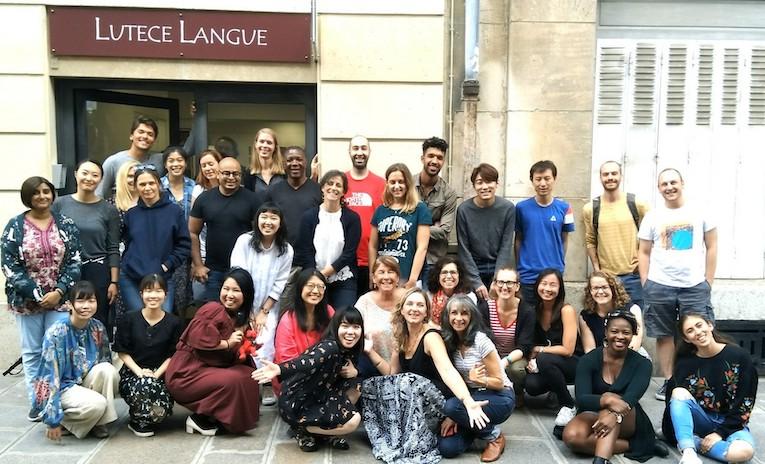 Stagiaires Paris 7 cours d'anglais